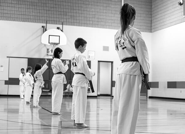 Martial Arts Students